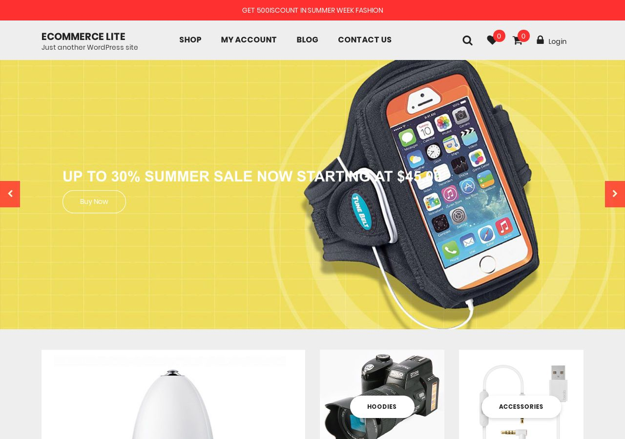 Download Ecommerce Lite Free Responsive Wordpress Theme Ecommerce Lite