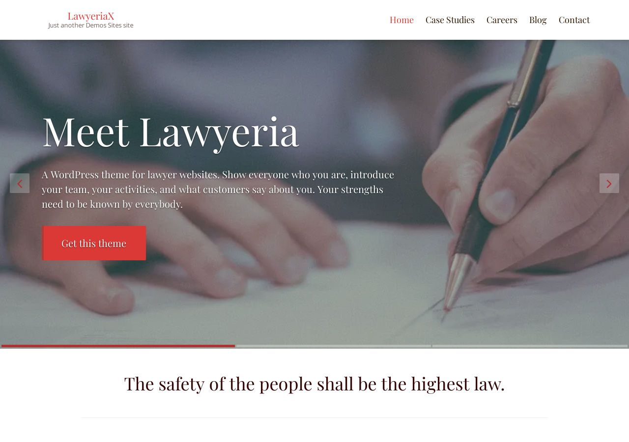 LawyeriaX Lite Theme