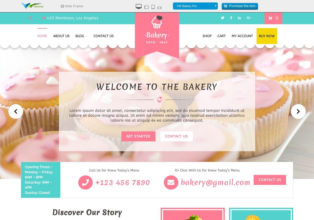 20+ Best Free Responsive Restaurant WordPress Themes – FRT