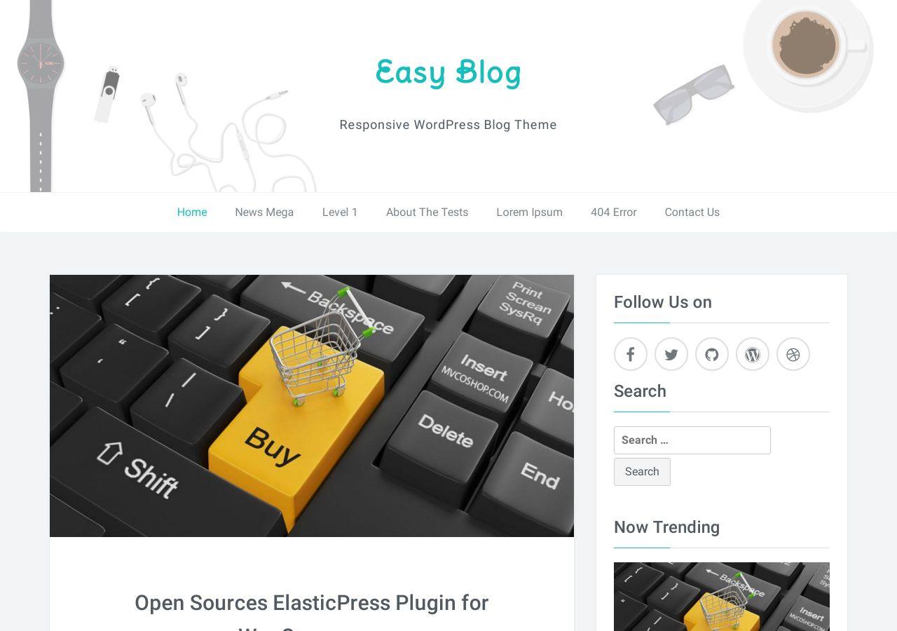 Download Easyblog Free Responsive WordPress Theme – Easyblog