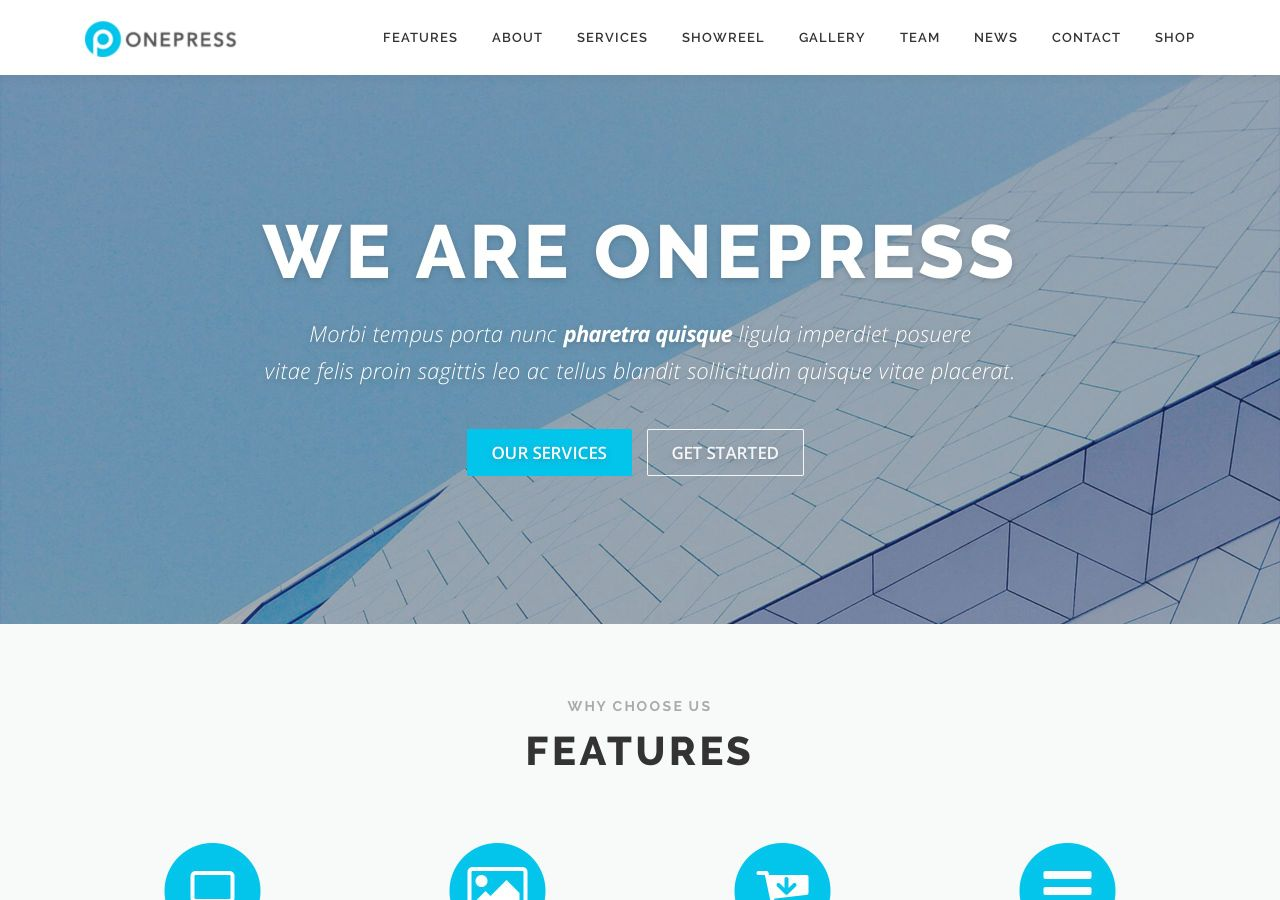OnePress Theme