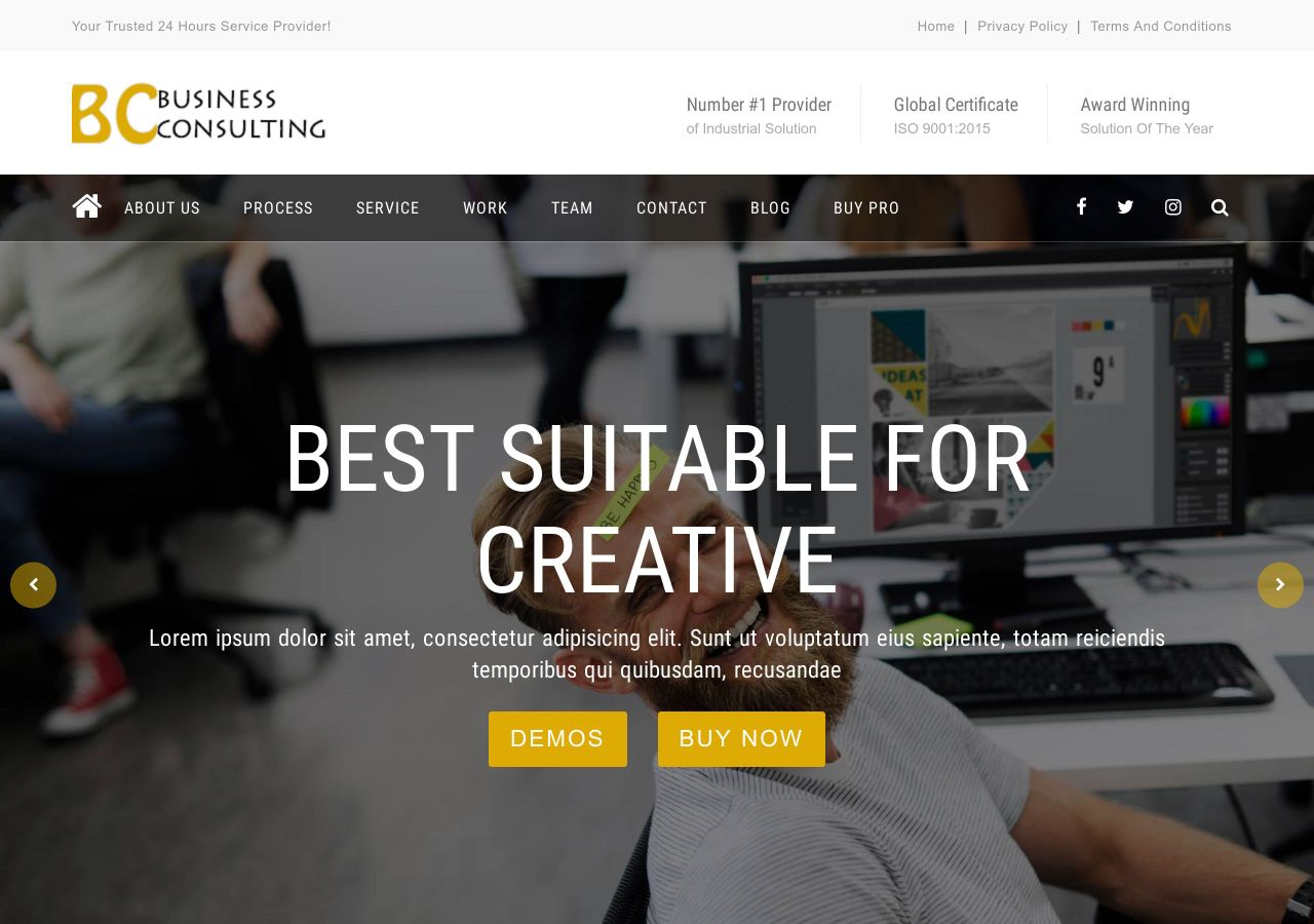 Download BC Business Consulting Free Responsive WordPress
